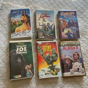 Disney, Warner Bros VHS VERSION FRANÇAISE
